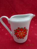 Kahla német porcelán tejkiöntő, magassága 8,3 cm.