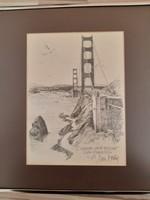 San Francisco Golden Gate Híd!