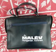 MALÉV Hungarian Airlines kék táska