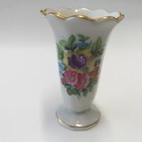 Herendi Virágos Mini Váza 6.5 cm