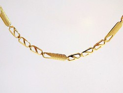 Arany fantázia mintás nyaklánc (ZAL-Au97948)