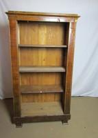 Antik Bieder Könyves szekrény