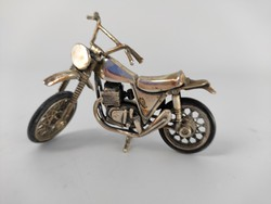 Ezüst motor, mozgó részekkel 925-ös