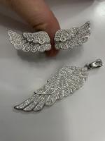 Ezüst medál és gyűrű szett szárny