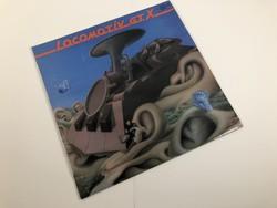 Locomotiv GT - X -1982 Hanglemez Bakelit lemez LP zene
