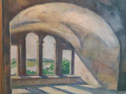 Toroczkai Oszvald festmény