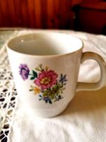 Alföldi porcelán virág mintás bögre