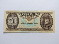 """50 forintos papirpénz 1983  """"D""""  UNC"""