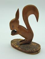 B609 Fa mókus figura - szép hibátlan állapotban