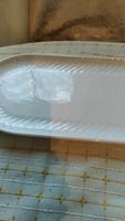 Gránit számos ritkább fehér kínáló tányér