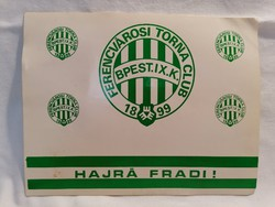 Hajrá Fradi ! FTC Ferencvárosi Torna Club győzelmei nagyalakú képeslap