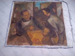 BAKÁNYI GYULA FESTMÉNY 100 x 110 cm