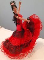 Flamenco táncos nő (baba)