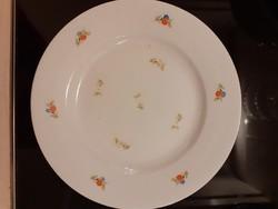 Zsolnay süteményes tányér, kopott festés