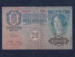 Osztrák-Magyar (1912-1915) 20 Korona bankjegy 1913 (id30114)
