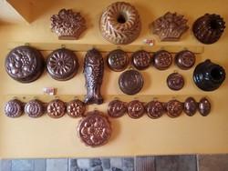 25 db-os sütőroma gyűjtemény