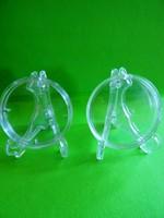 Érmetartó Kitüntetéstartó állvány ÚJ műanyag díszes stabil 230 Ft/db (kapszula nélkül!!)