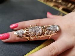 2 : 1 különleges14k arany gyűrű