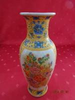 Japán porcelán váza, magassága 20 cm.