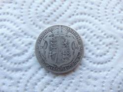 Anglia 1/2 korona 1916 13.66 gramm 925 - ös ezüst 01