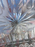 Álomszep csiszolt üveg tálca