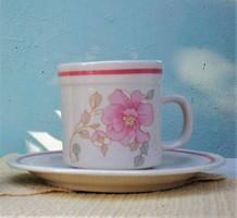 Mandarin Claudia Kávés kapucsínós bögre alátét tányérral