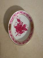 3 db Herendi Apponyi mintás gyűrű tartó tányérka új, hibátlan állapotban