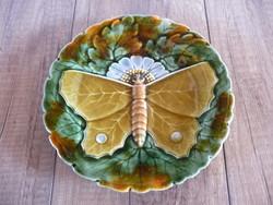 Schütz pillangós fali tányér