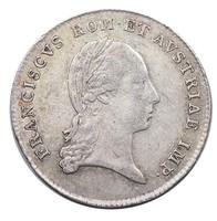 Ferenc 1792-1835  Ag koronázási zseton 1804, a császári cím felvétele emlékére  T2 RR