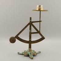Levélmérleg - Régi bronz posta mérleg-inga mérleg