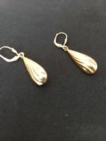 14 karátos arany lógós fülbevaló 2,04 gr 4 cm hosszú. hibátlan, újszerű