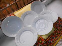 6 db Herendi   tányér --5 db deszertes+1db teás  csészealj átmérő 15 cm