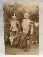 Atelier Betty , Abbazia 1914 Úri emberek fotó képeslap