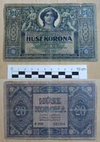 20 korona 1919 augusztus !! Tanácsköztársaság