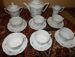 Zsolnay Manófüles teás készlet