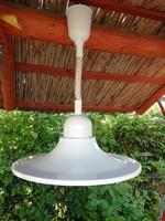 Nádas Béla iparművészeti fém mennyezeti lámpa