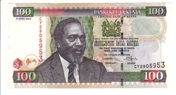 100 shilingi 2006 Kenya UNC