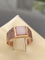 Antik 14 karátos arany gyűrű ritka ékkővel