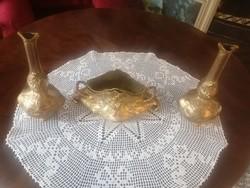 Antik váza pár, s virágtartó