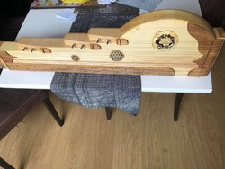 Handmade carved zither! Stringed 19-string! Playable immediately! Body length: 82cm