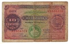 10 centavos 1914 Mozambik 3.