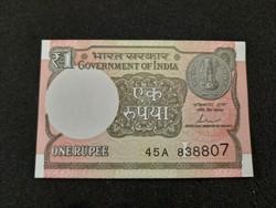 India 1 Rúpia UNC