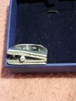 Különleges vastag 15g ezüst gyűrű  újszerű