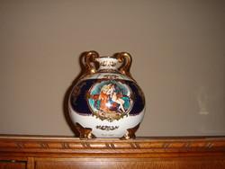 Jelenetes Limoges-i váza