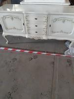 Warrings tálalókomod három fiokos chippendél barok 160x50x82cm