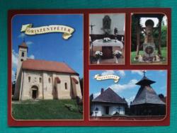 Magyarország,Őrség,Őriszentpéter,,postatiszta képeslap