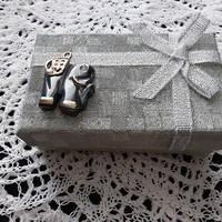 Hematit  elefánt medál, kedves ajándék lehetőség, hibátlan, karcmentes