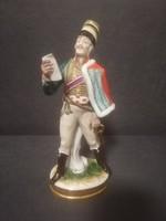 Volkstedt(Rudolf Kämmer)porcelán katona gyüjtőknek