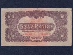 A Vöröshadsereg Parancsnoksága (1944) 100 Pengő bankjegy 1944 (id50565)