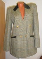 C&A  bársony galléros, karcsúsított női zakó / kabát 38-40.